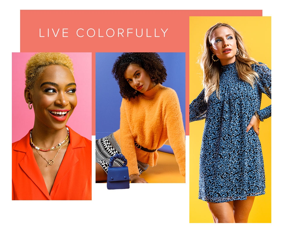 Live Colorfully. Click Here To Shop The Collection.